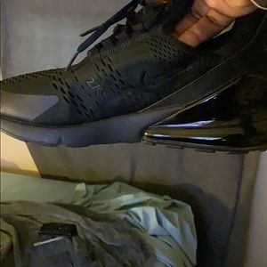 Nike Shoes - All black Nike Air Max 270.